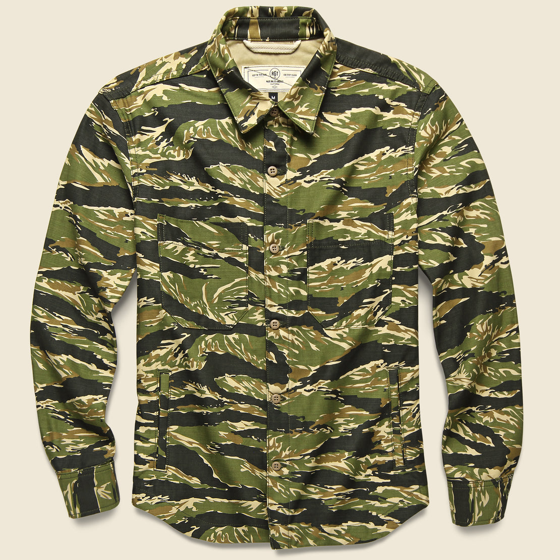 Rogue Territory Patrol Work Shirt - Tiger Camo