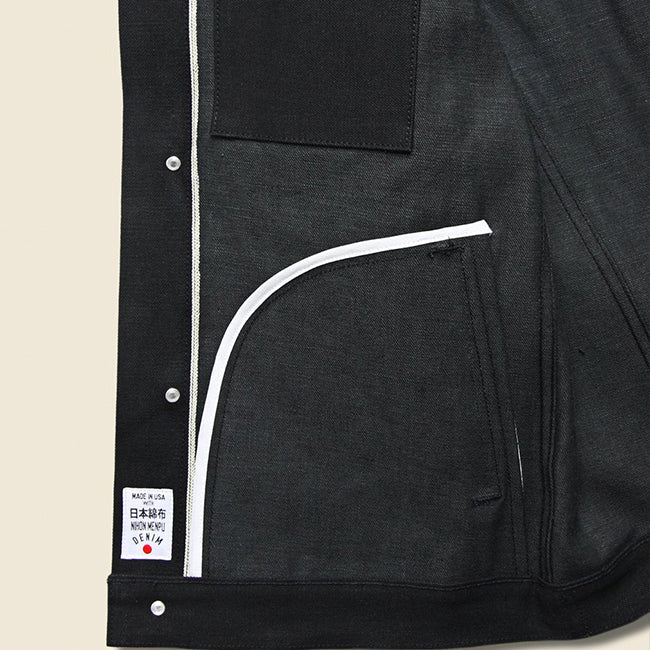 Supply Jacket - Stealth Black
