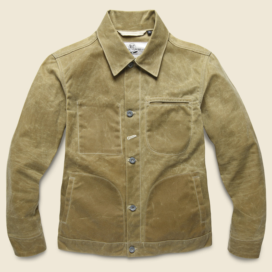 Rogue Territory Waxed Ridgeline Supply Jacket - Tan
