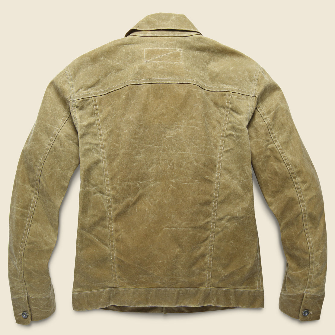 Waxed Ridgeline Supply Jacket - Tan