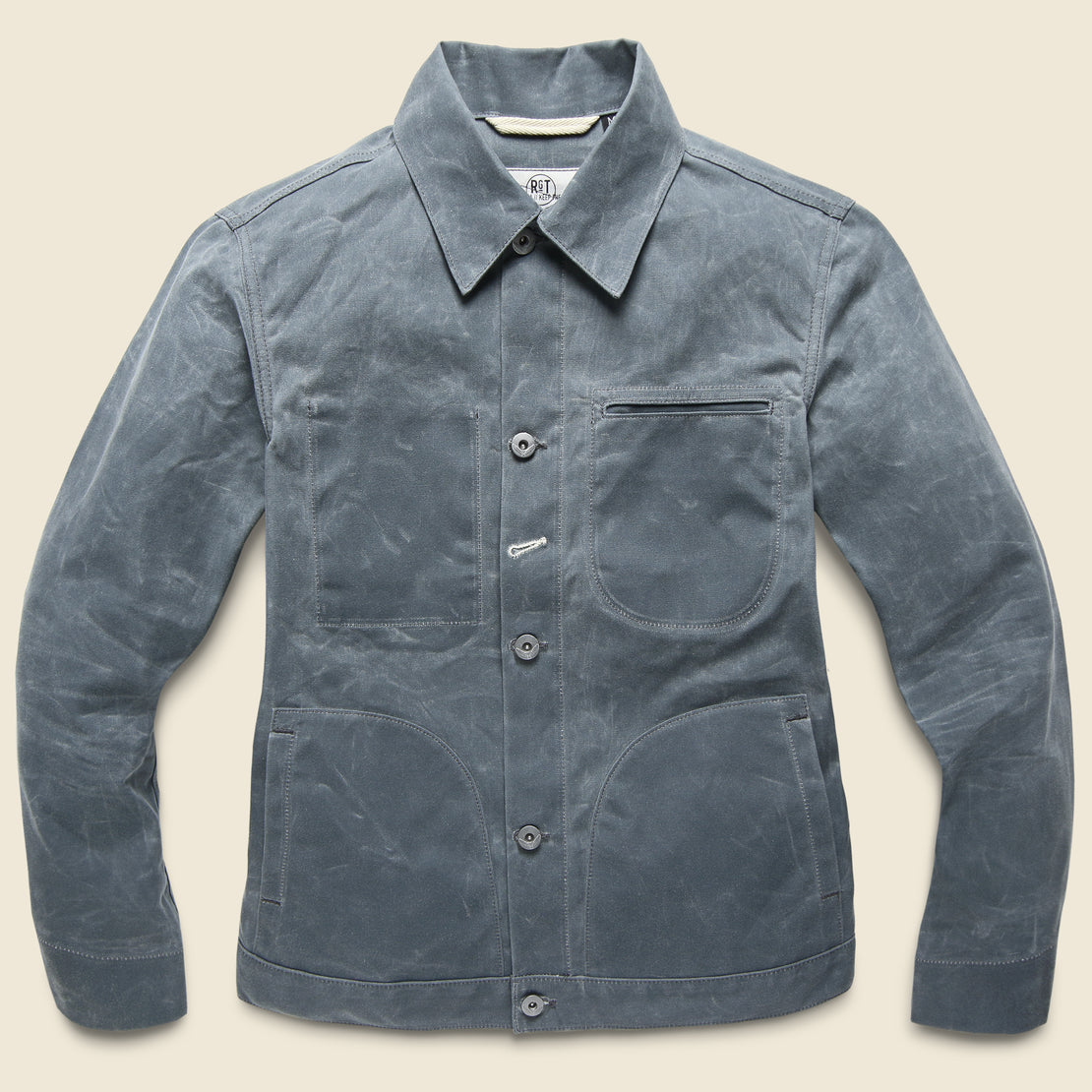 Rogue Territory Waxed Ridgeline Supply Jacket - Grey