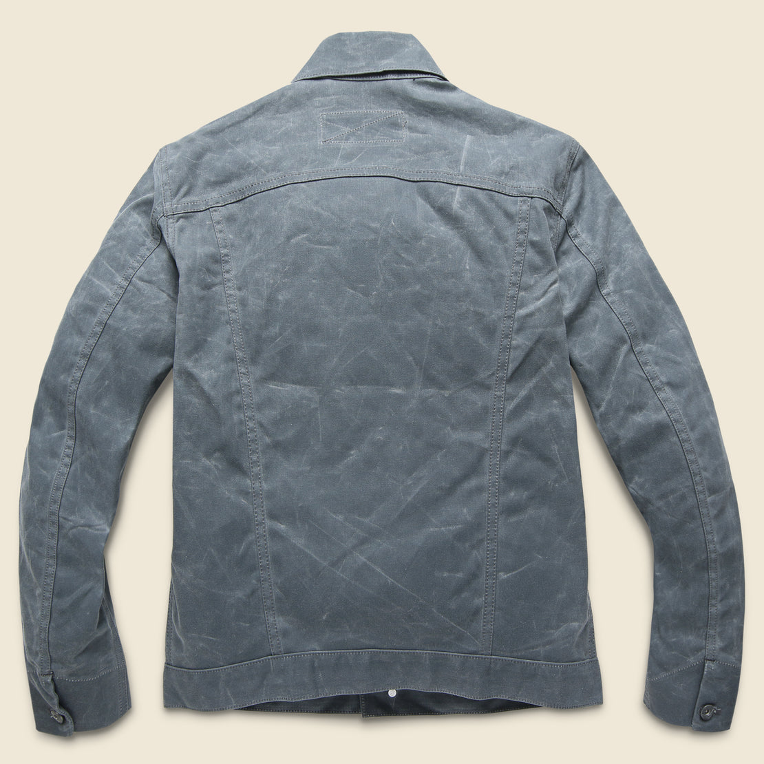 Waxed Ridgeline Supply Jacket - Grey