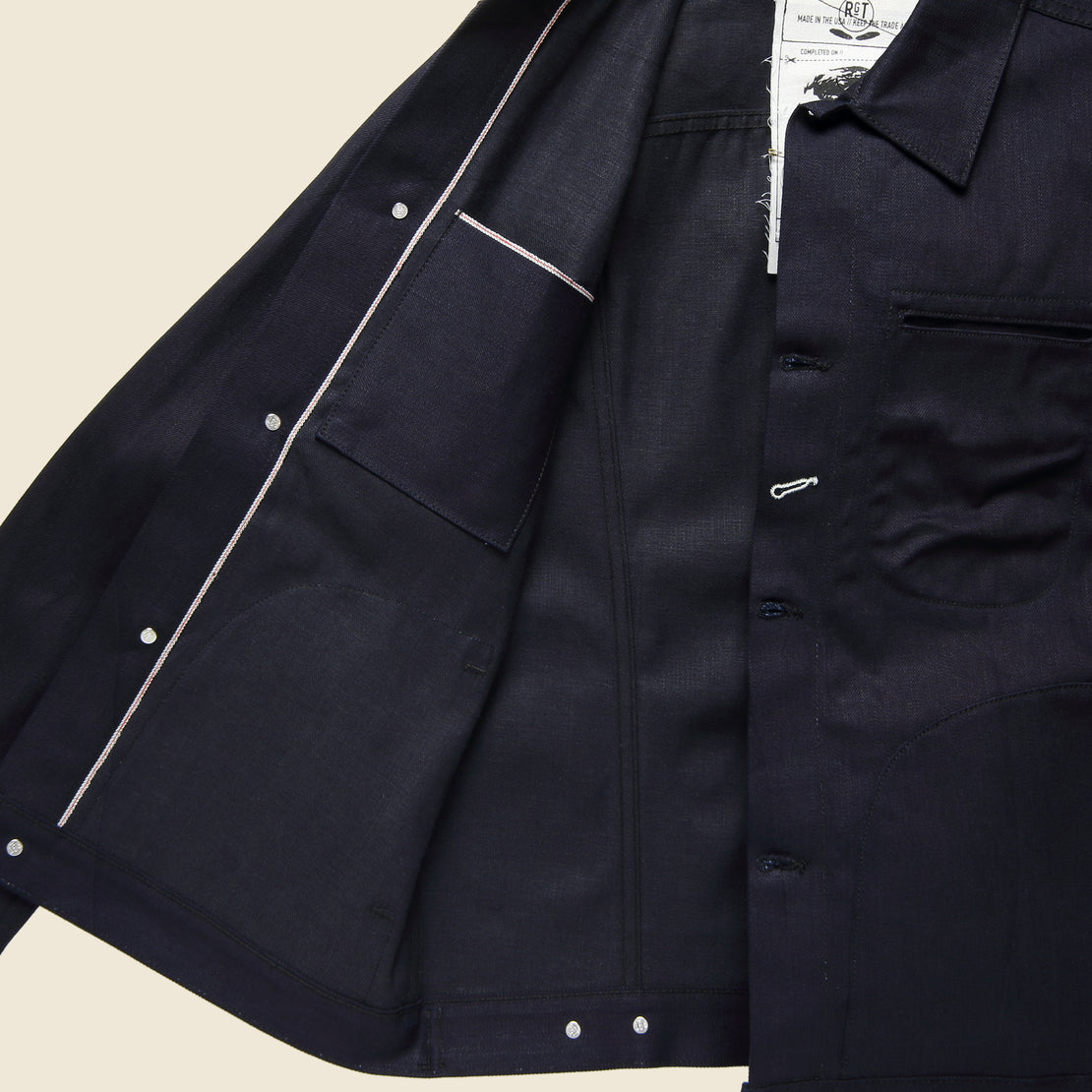 Supply Jacket - Dark Indigo