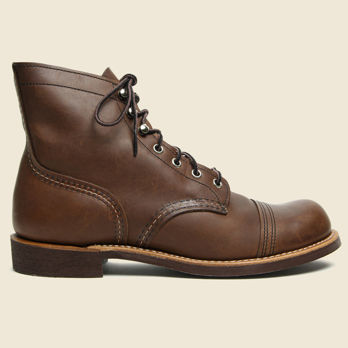 Red Wing Iron Ranger No. 8111 - Amber - Mini-Lug Sole