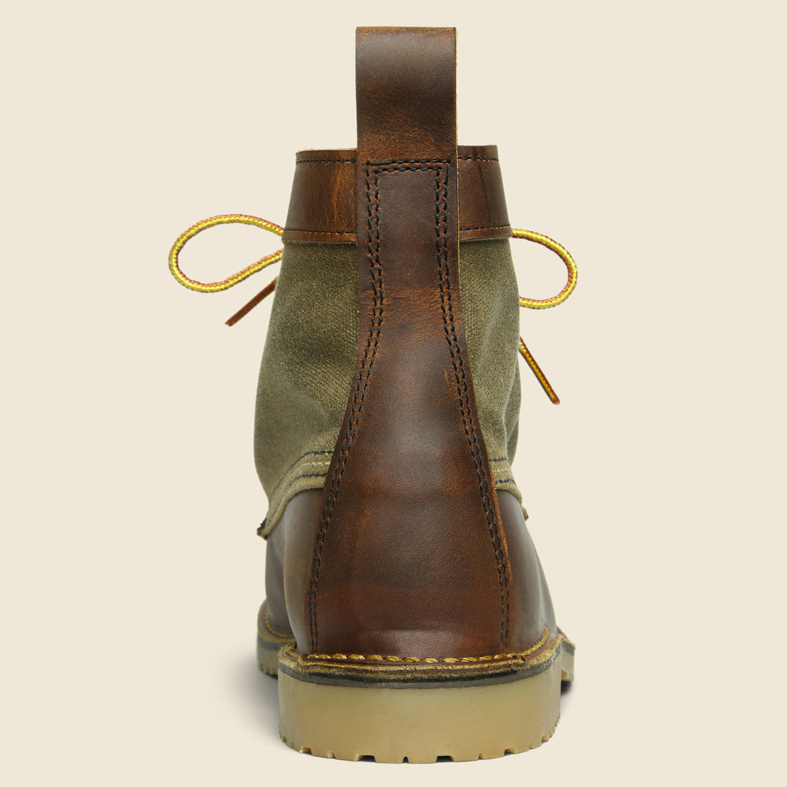 "6"" Wacouta Moc Toe No. 3335 - Canvas/Copper"