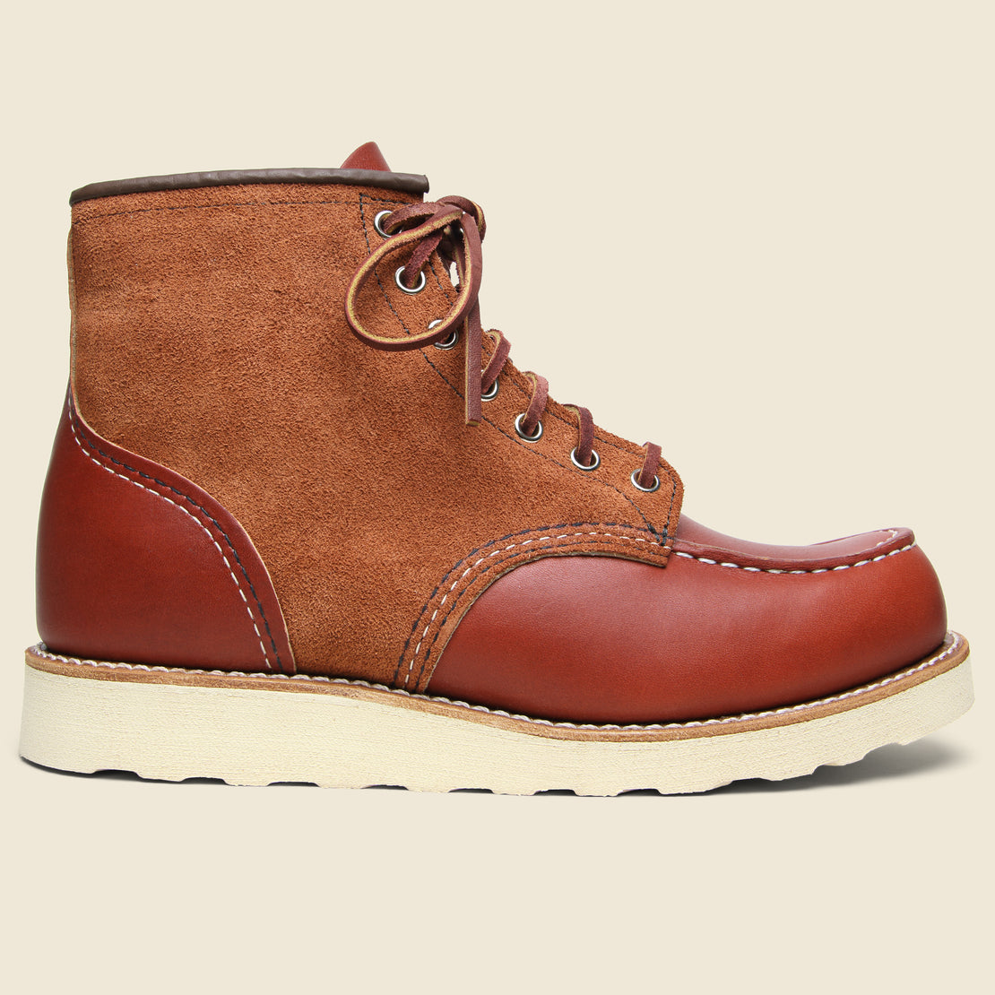 "Red Wing 6"" Moc Toe No. 8819 - Oro Russet Portage"