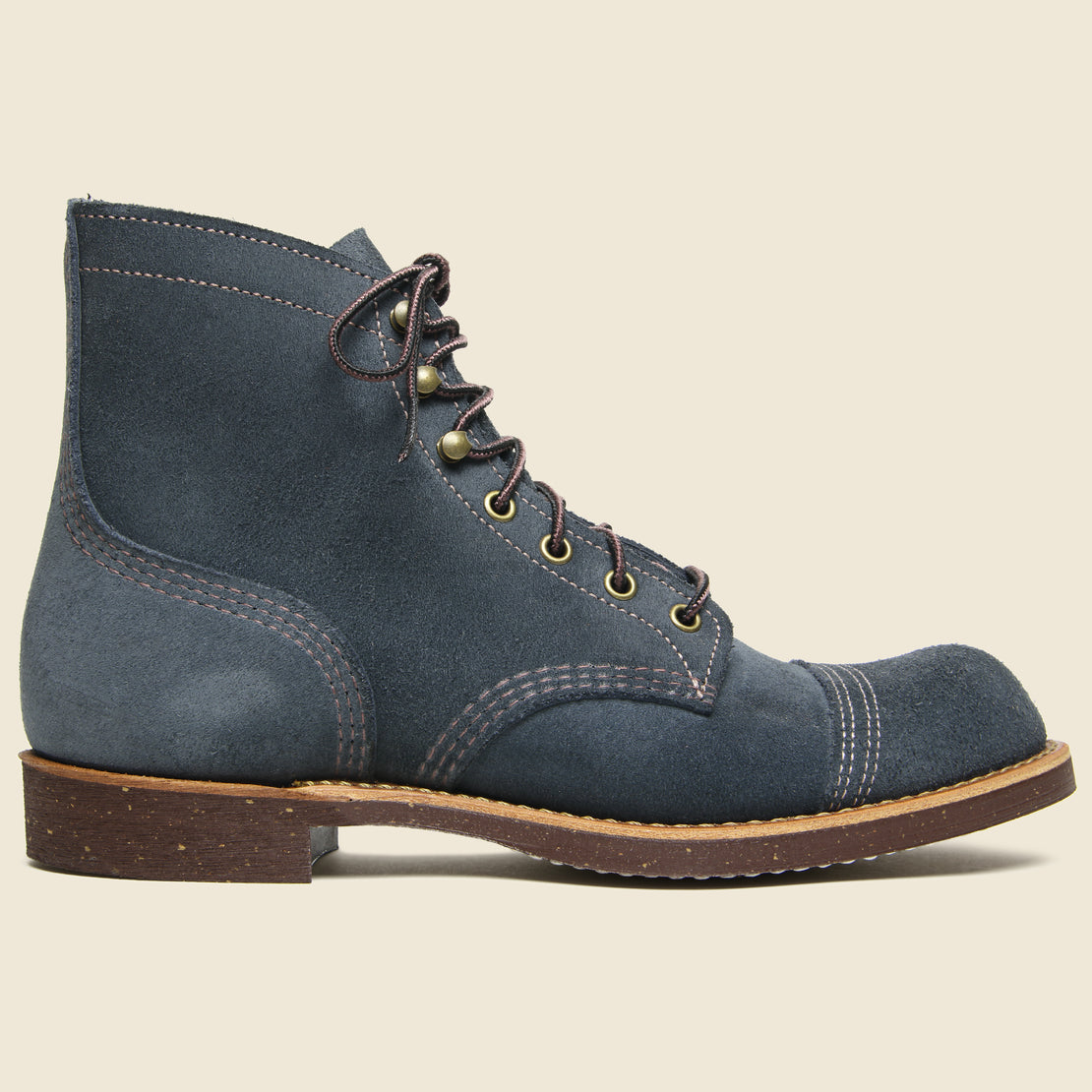 Red Wing Iron Ranger No. 8117 - Navy Abilene Roughout