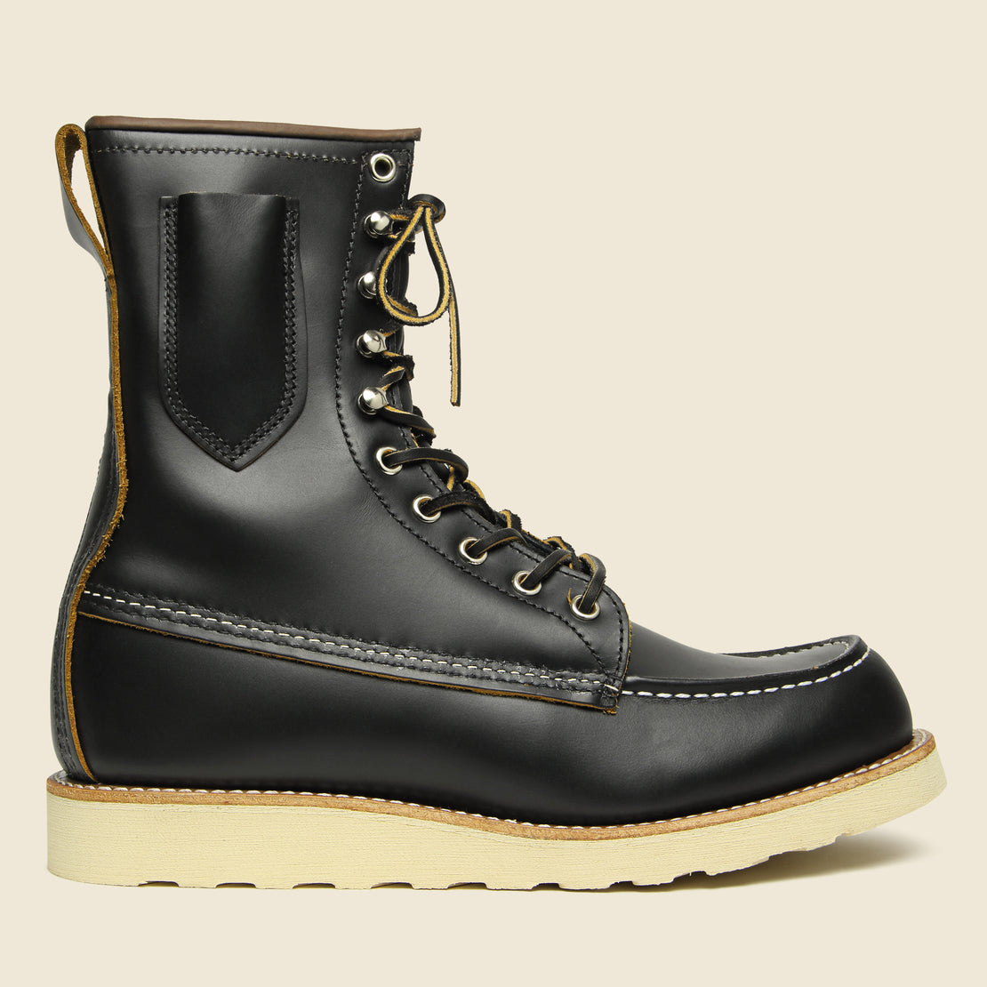 "Red Wing 8"" Billy Boot No. 8829 - Black Klondike"