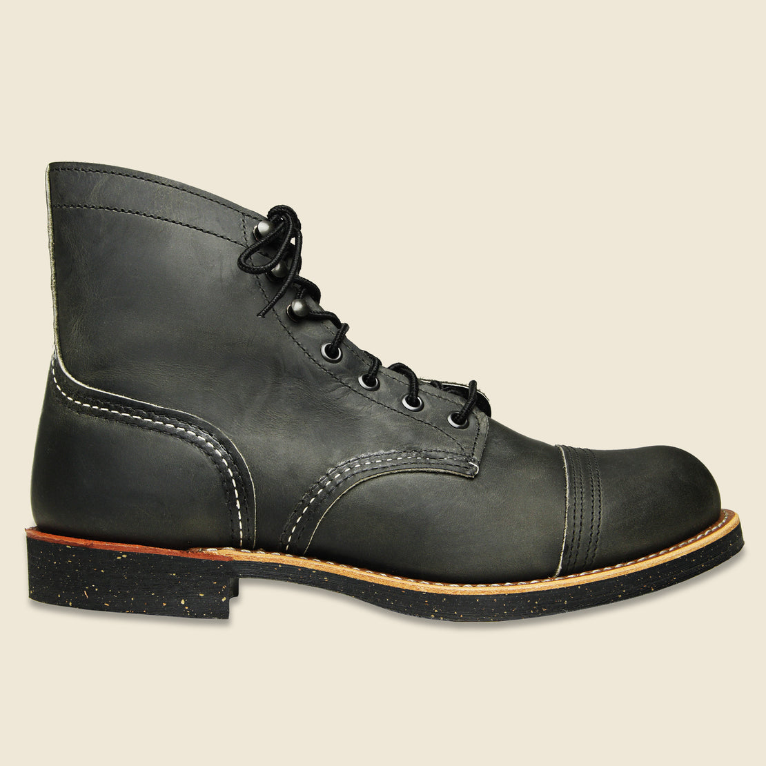 Red Wing Iron Ranger - Charcoal Rough & Tough