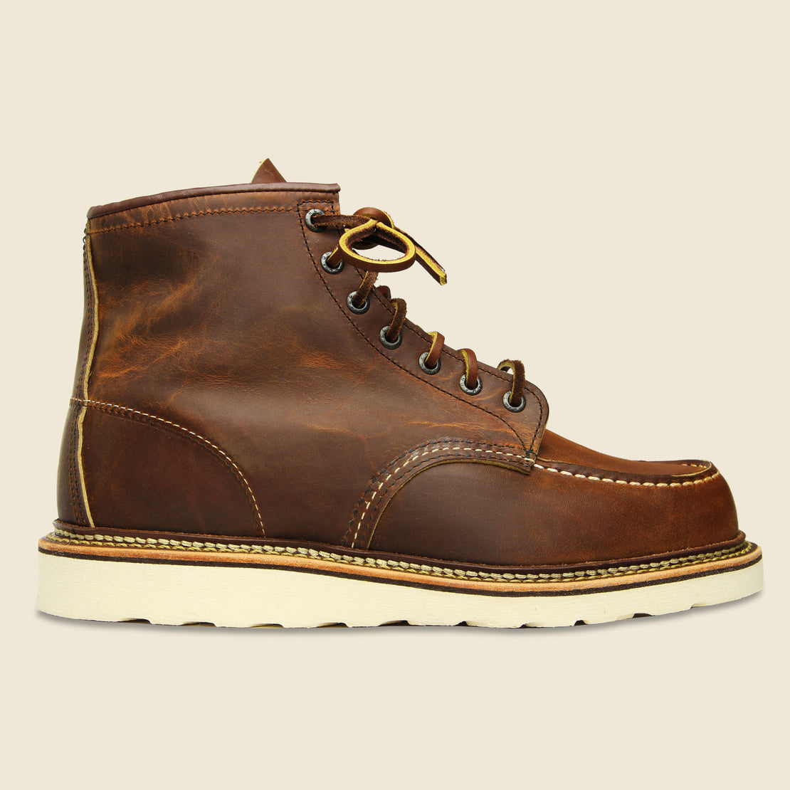 "Red Wing 6"" Moc Toe No. 1907- Copper Rough & Tough"