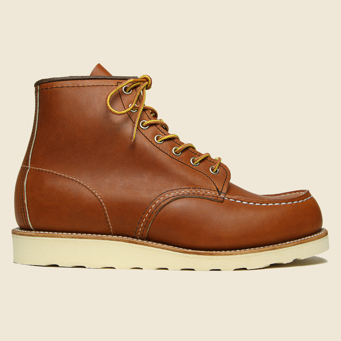 "Red Wing 6"" Moc Toe No. 875 - Oro Legacy"