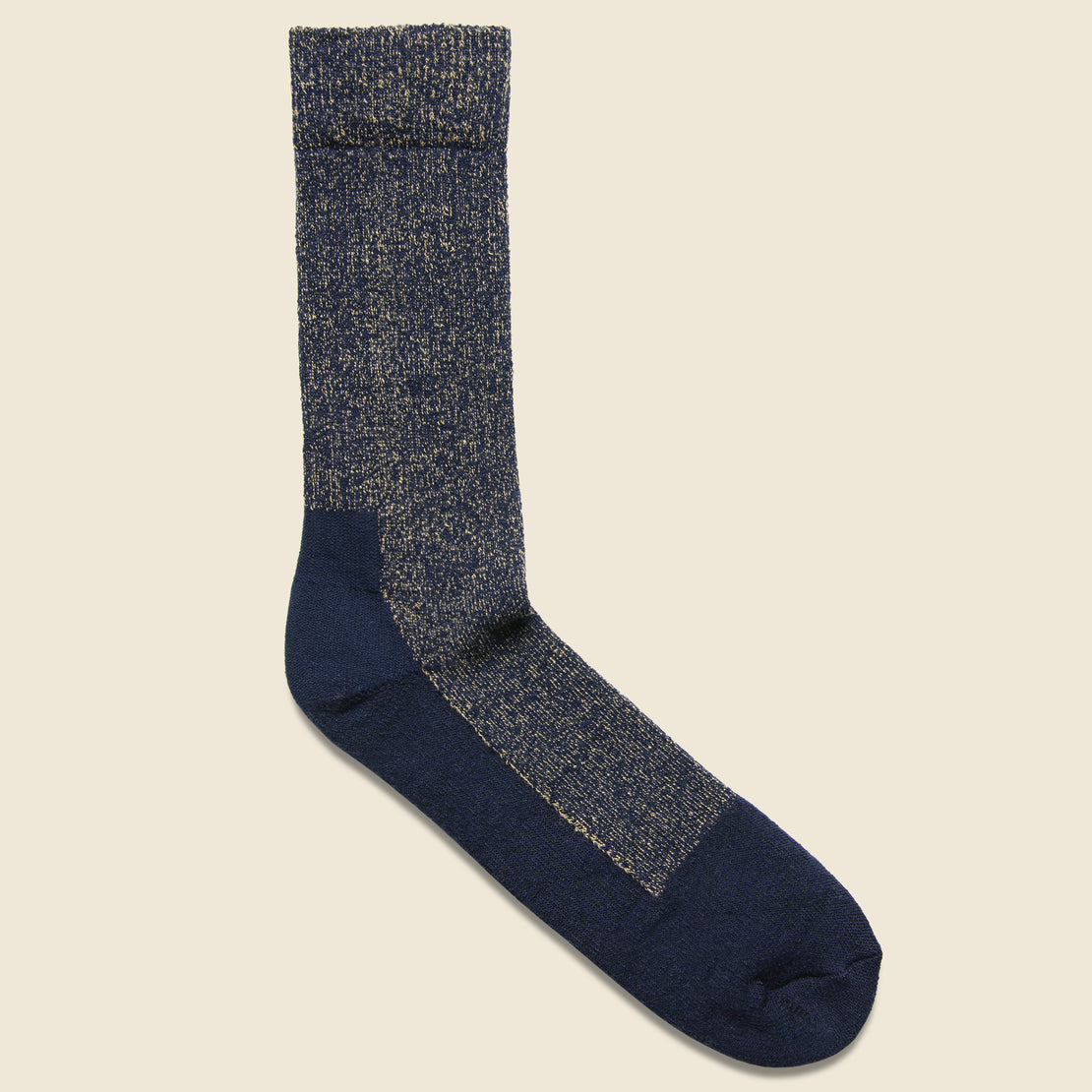 Red Wing Deep Toe Capped Wool Sock - Navy