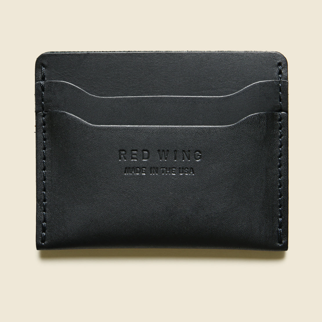 Red Wing Card Holder - Black Frontier