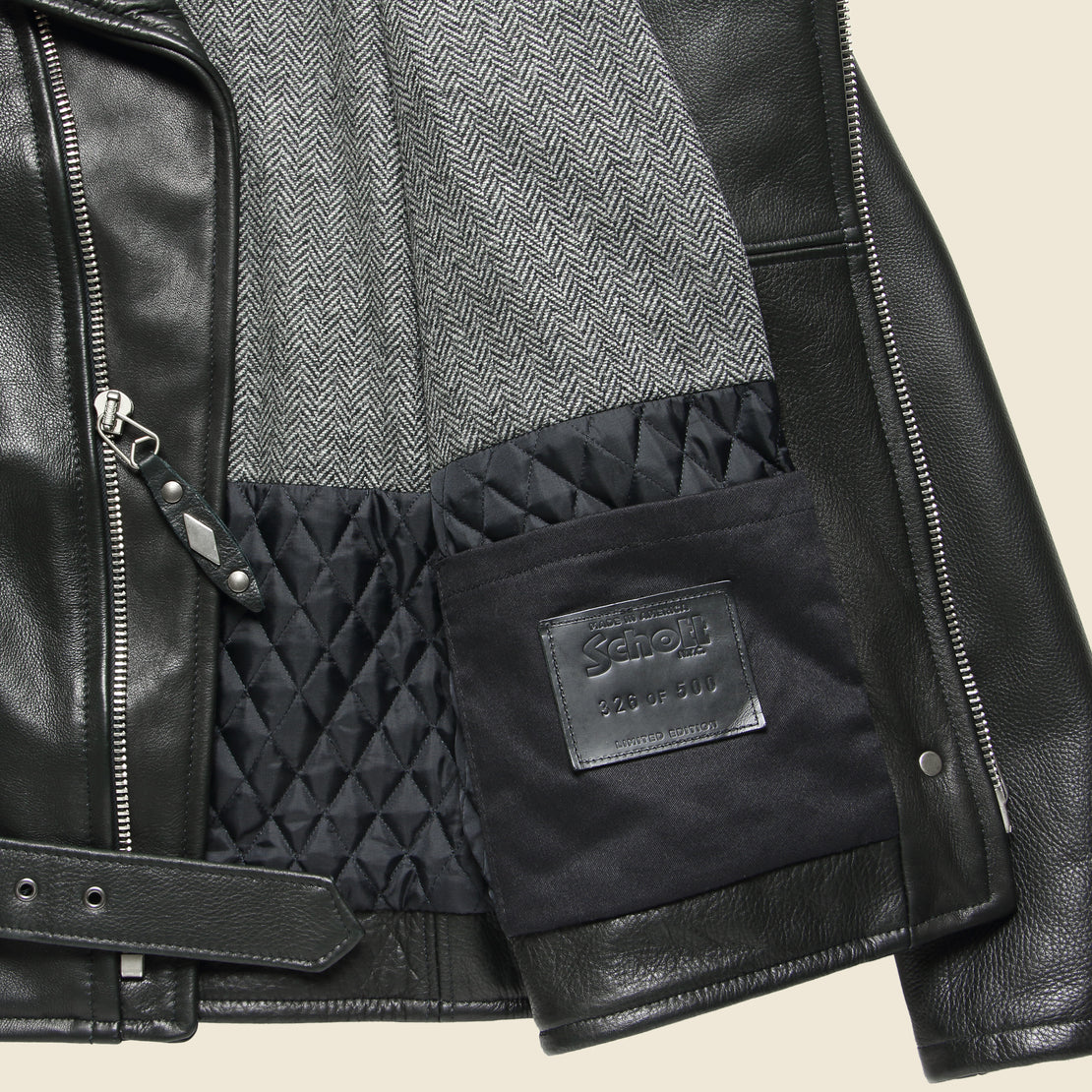 Anniversary Perfecto Jacket - Black
