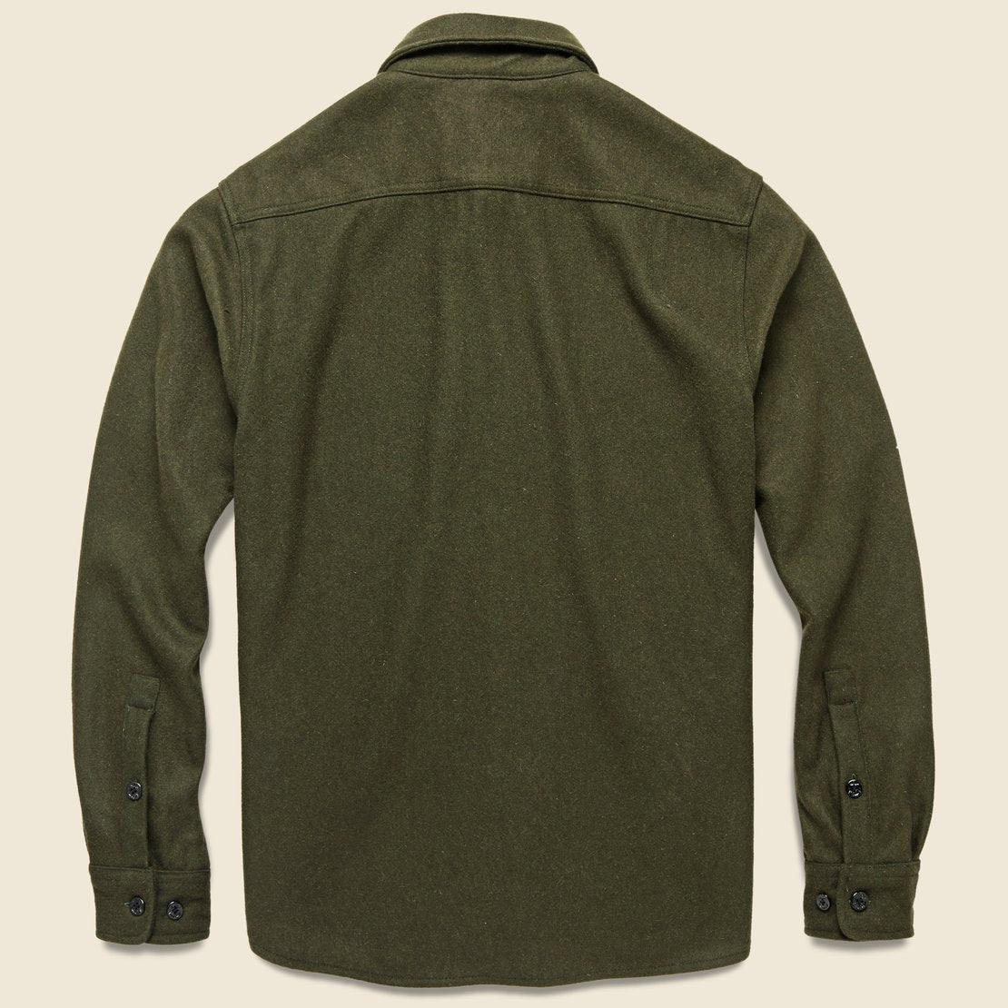 CPO Wool Shirt - Olive