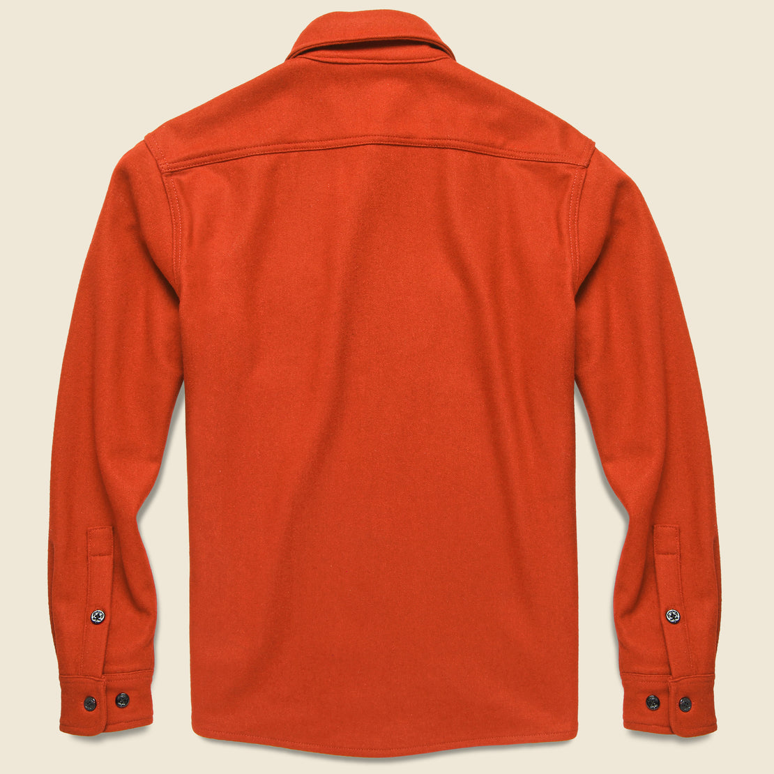 CPO Wool Shirt - Orange