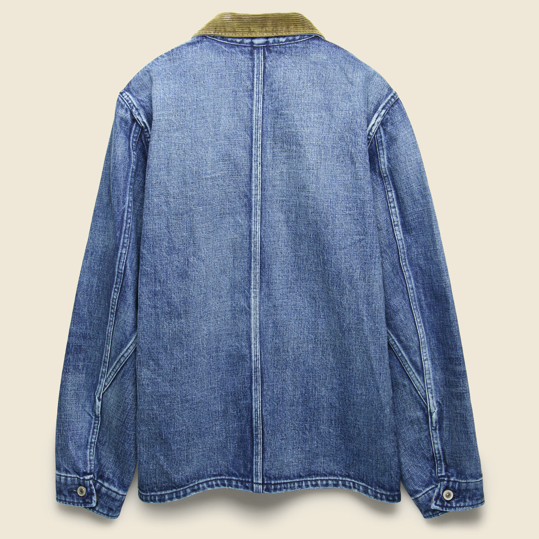 Denim Coverall Jacket - Light Indigo