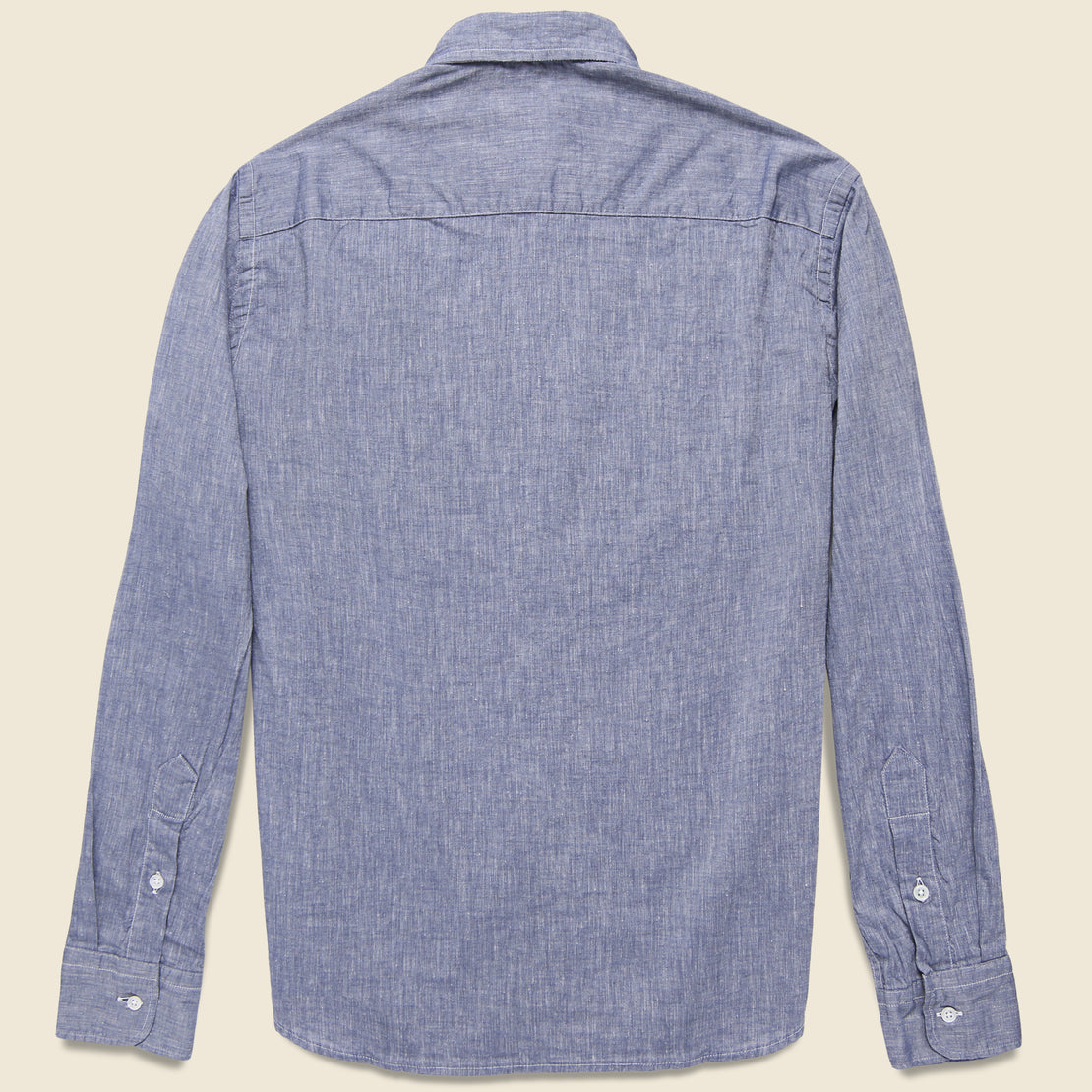 Brother Fit Shirt - Navy Chambray