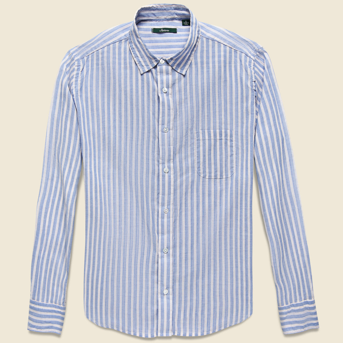 Gitman Vintage Brother Fit Shirt - Red/Blue Stripe