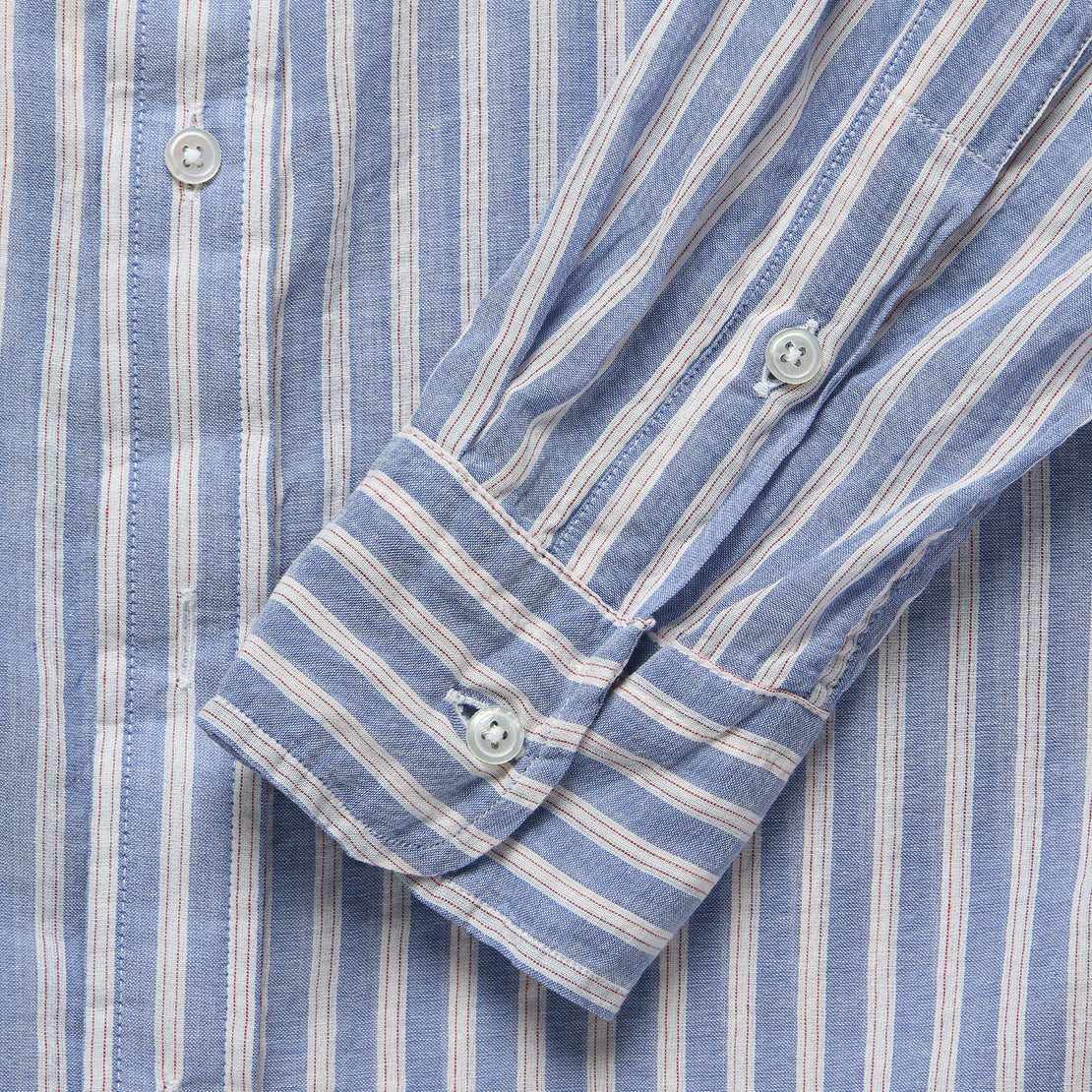 Brother Fit Shirt - Red/Blue Stripe
