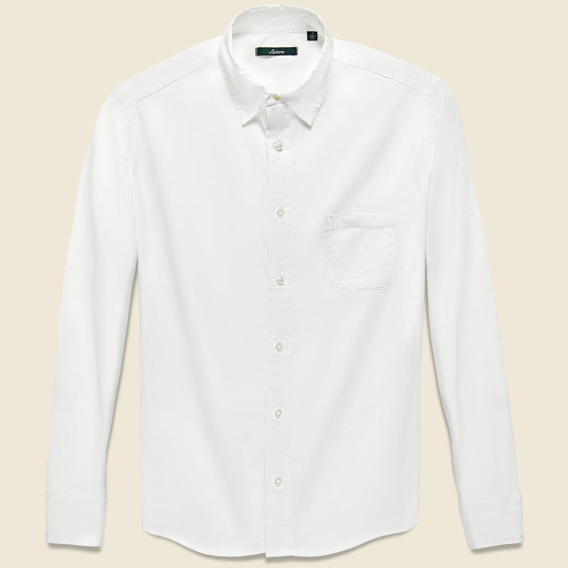 Gitman Vintage Brother Fit Shirt - White Chambray