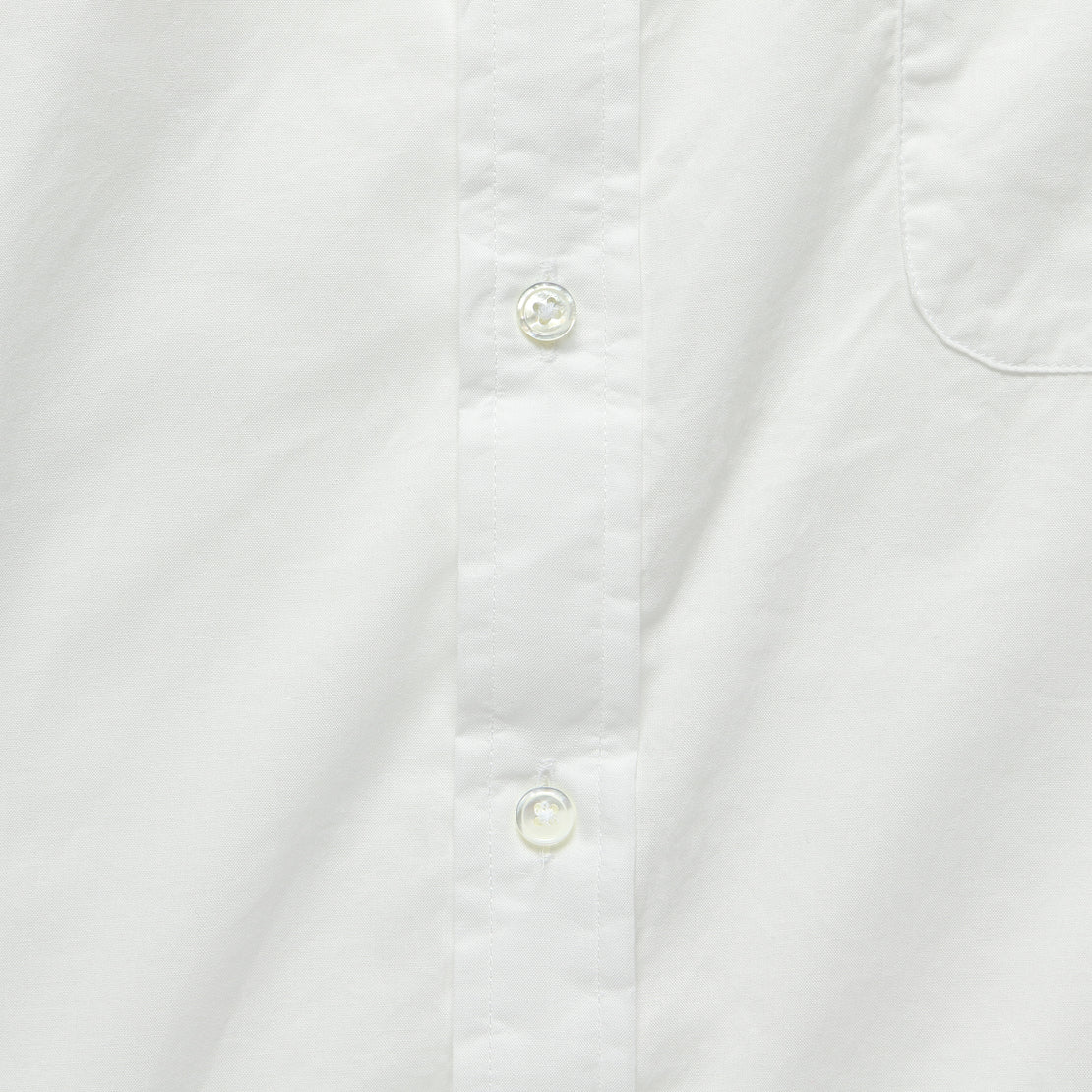 Brother Fit Shirt - White Chambray