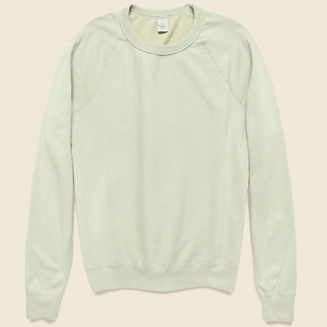 Save Khaki Supima Fleece Sweatshirt - Khaki