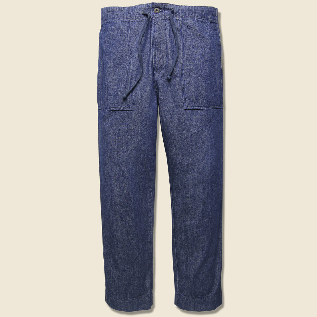 Save Khaki Denim Garden Pant - Rinse