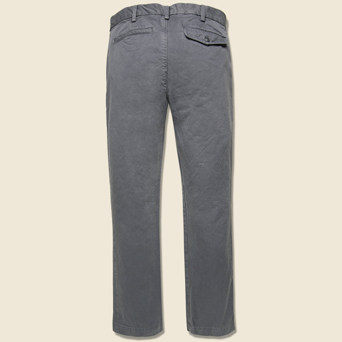 Bulldog Twill Trouser - Metal