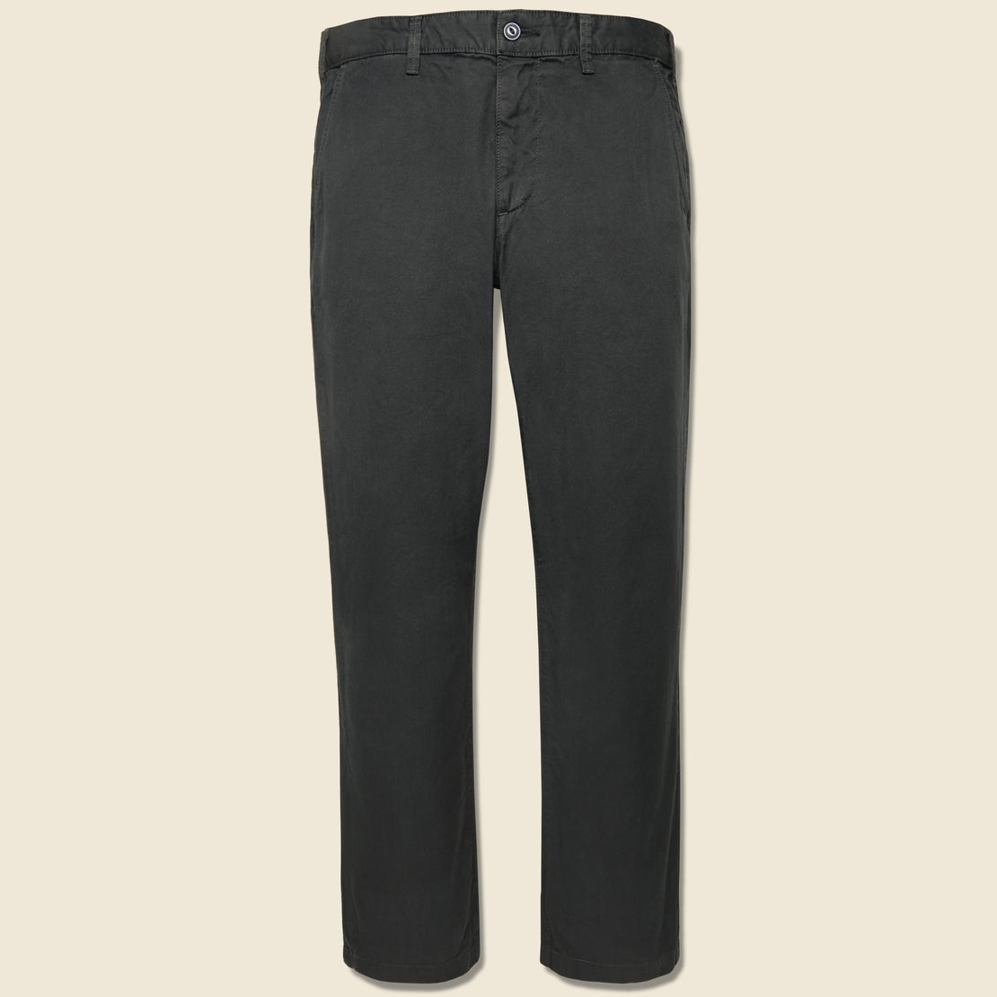 Save Khaki Twill Standard Chino - Black