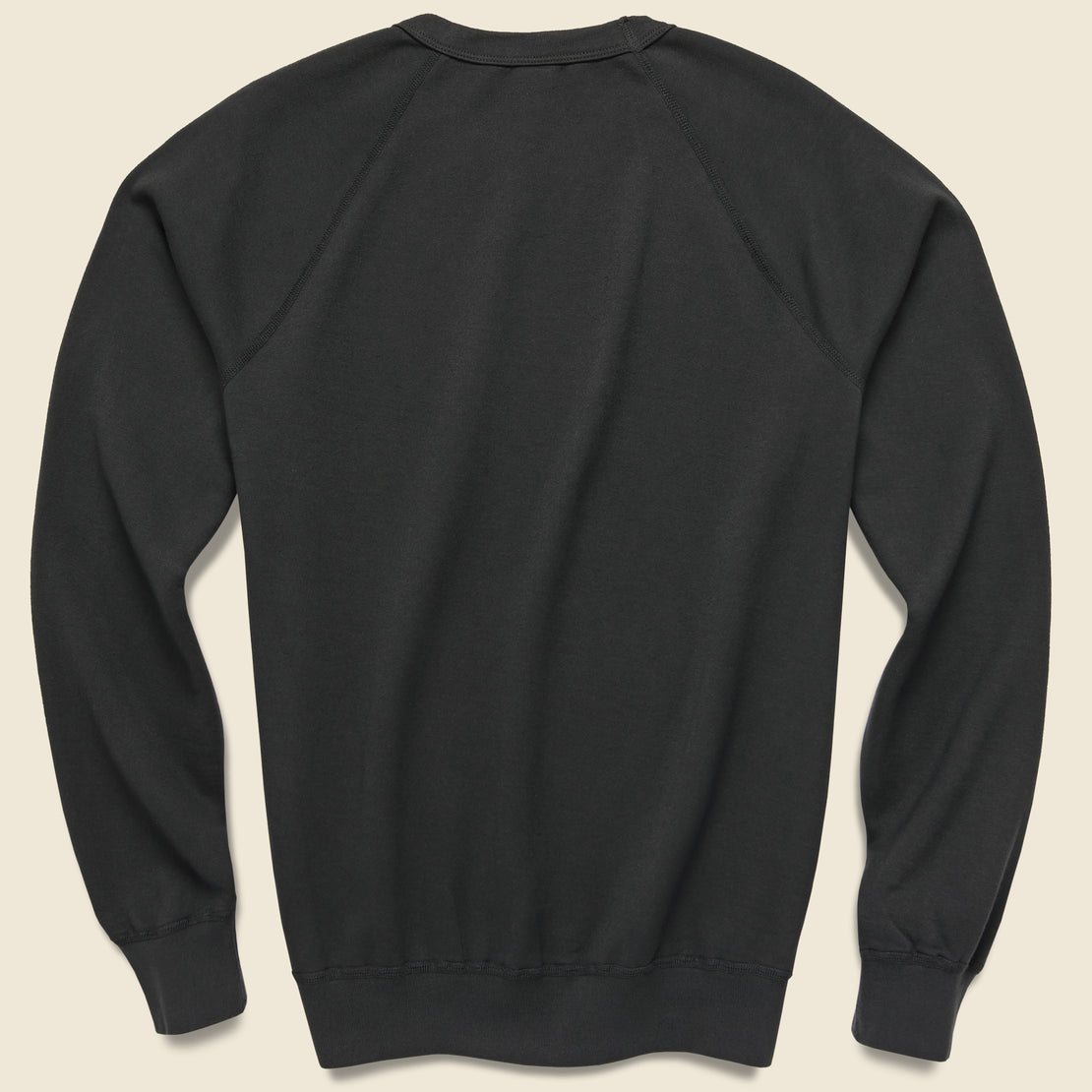 Supima Fleece Sweatshirt - Black