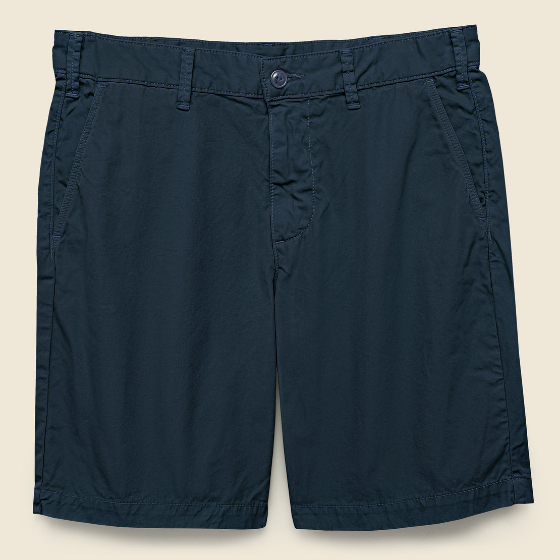 Save Khaki Twill Bermuda Short - Navy