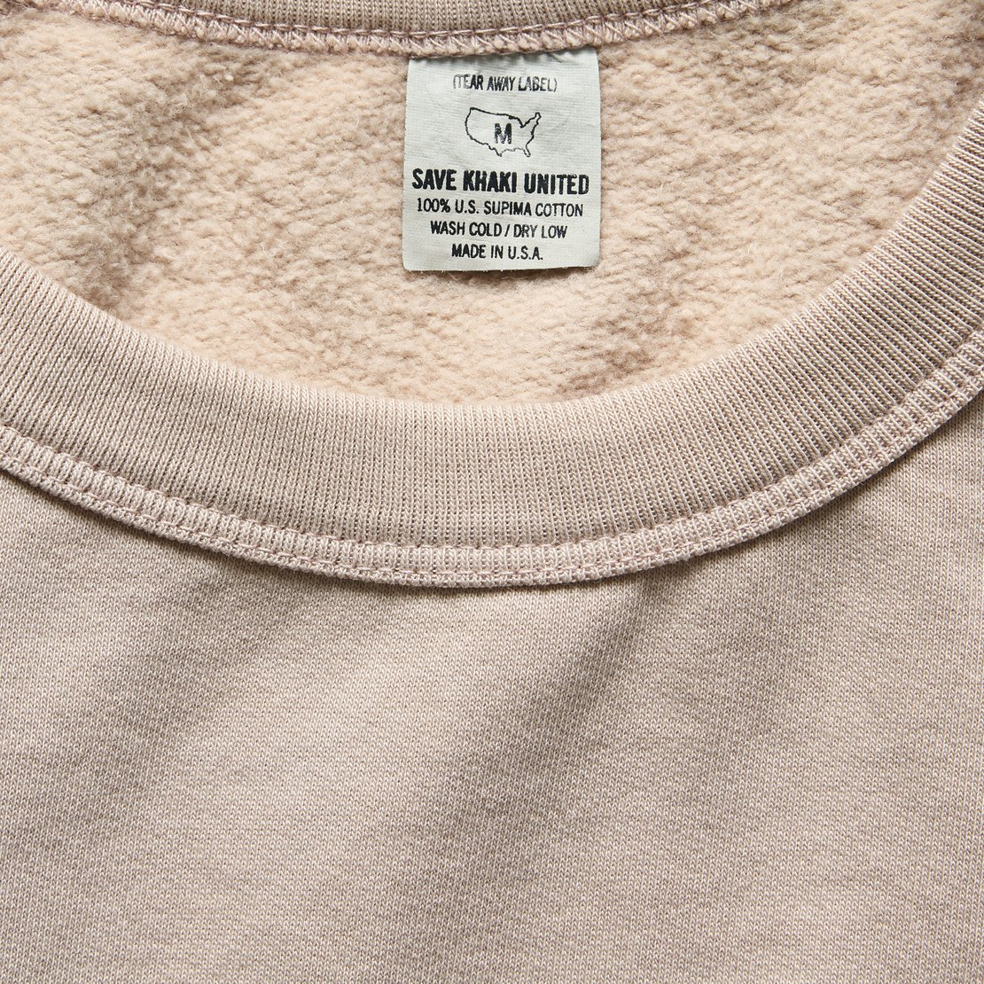 Supima Fleece Sweatshirt - Tea