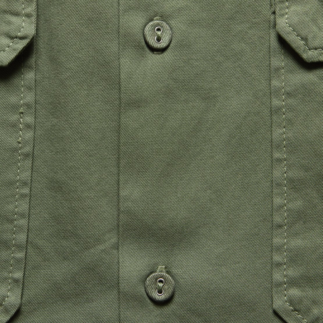 Light Twill Camp Shirt - Olive Drab