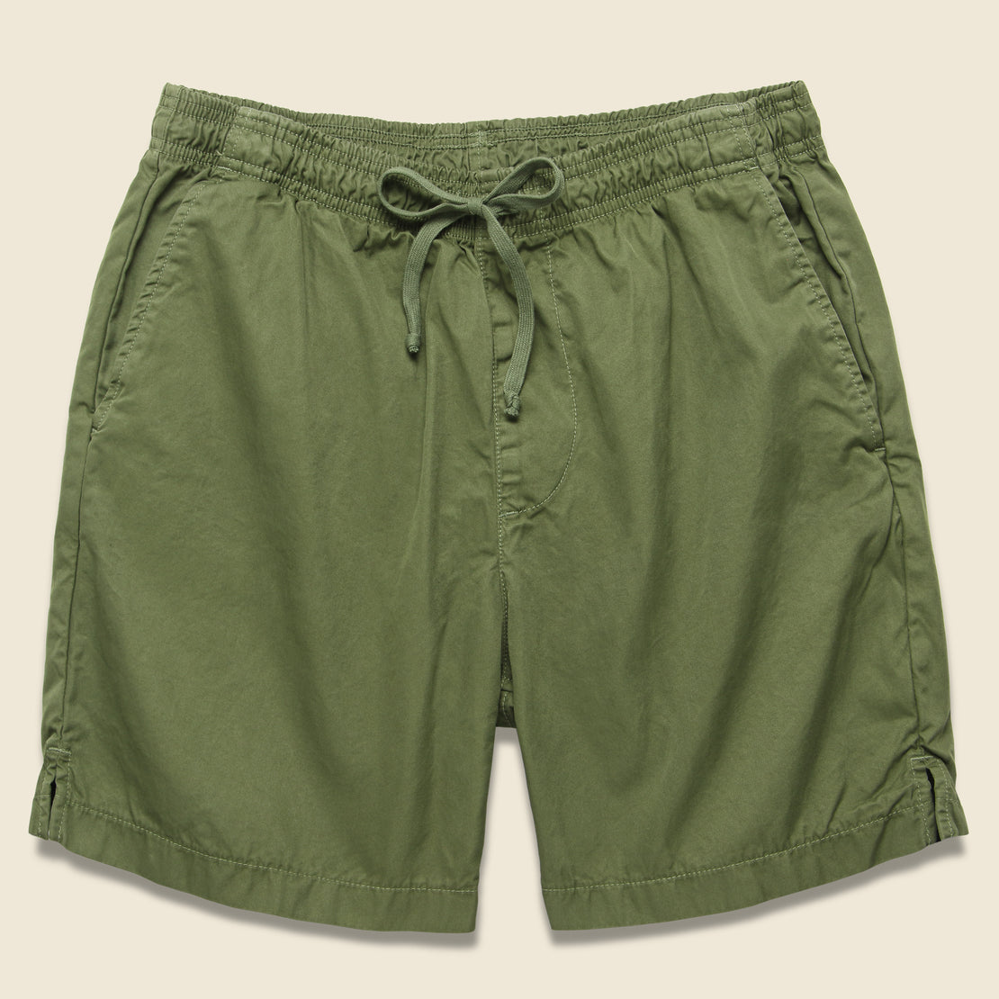Save Khaki Light Twill Easy Short - Olive Drab