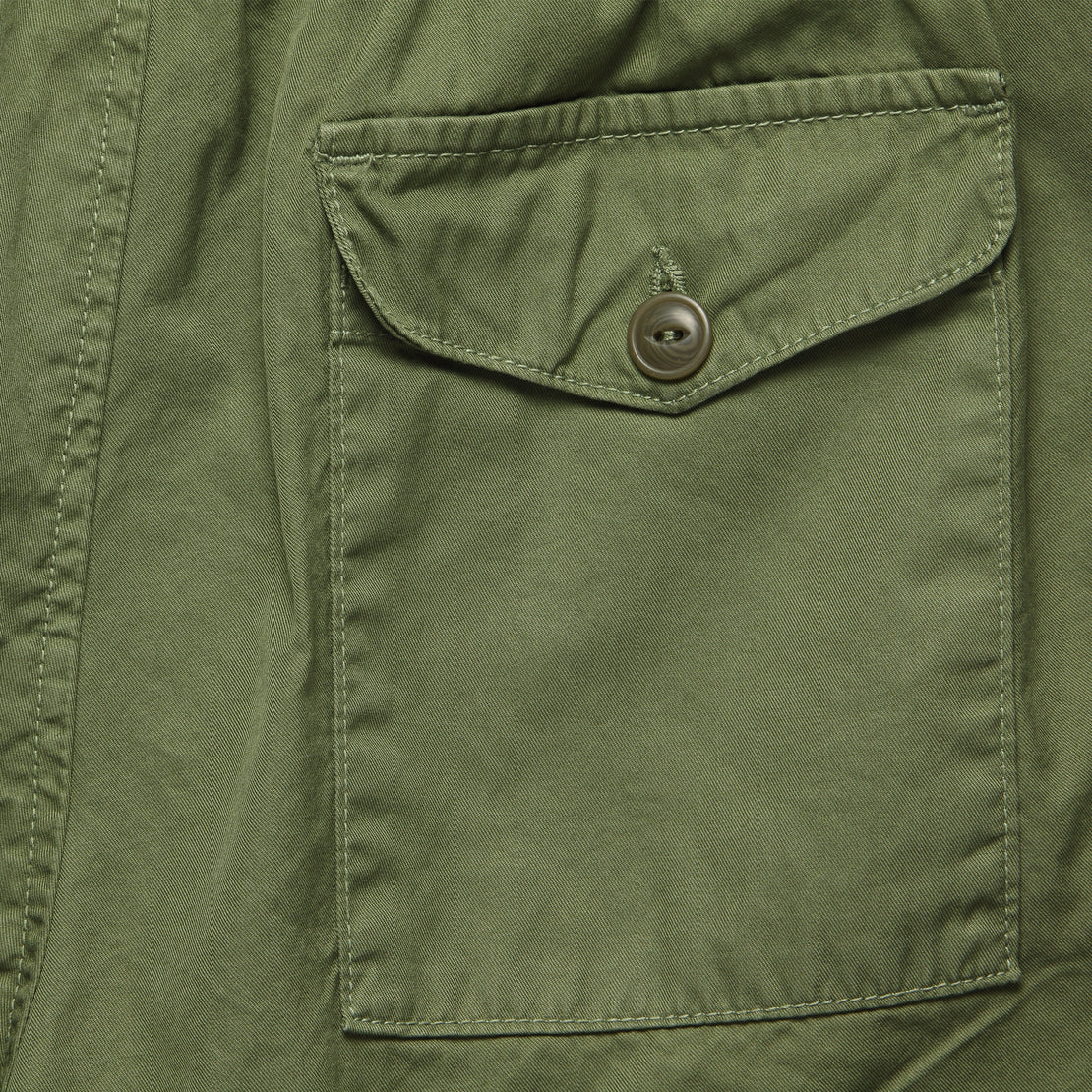 Light Twill Easy Short - Olive Drab