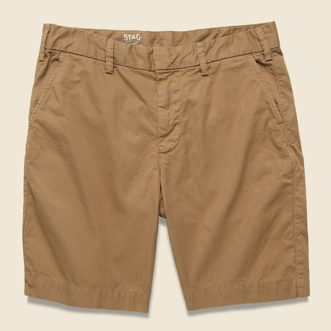 Save Khaki Twill Bermuda Short - Squash