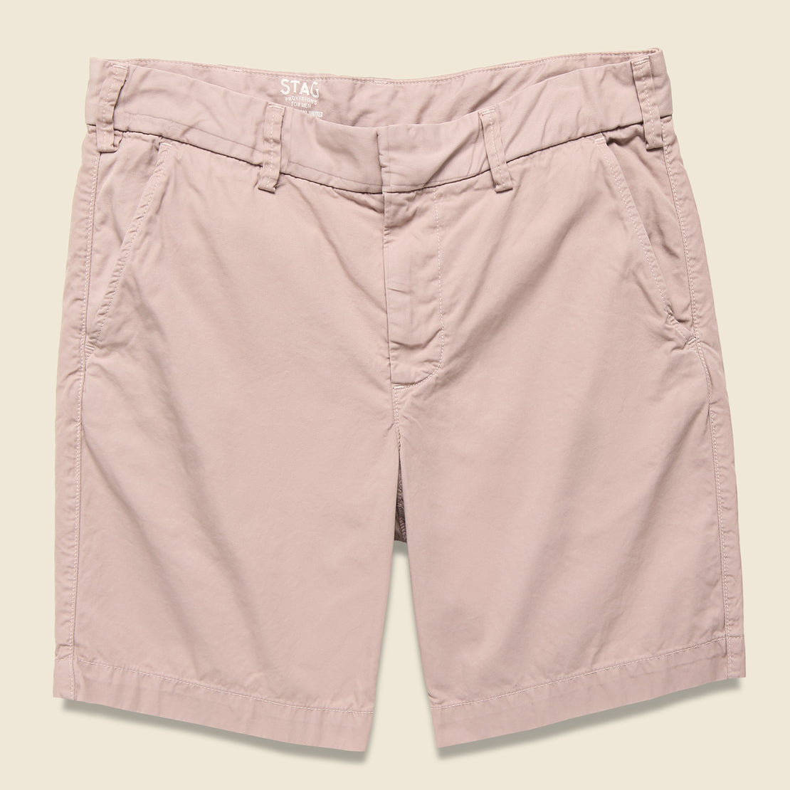 Save Khaki Twill Bermuda Short - Dusk