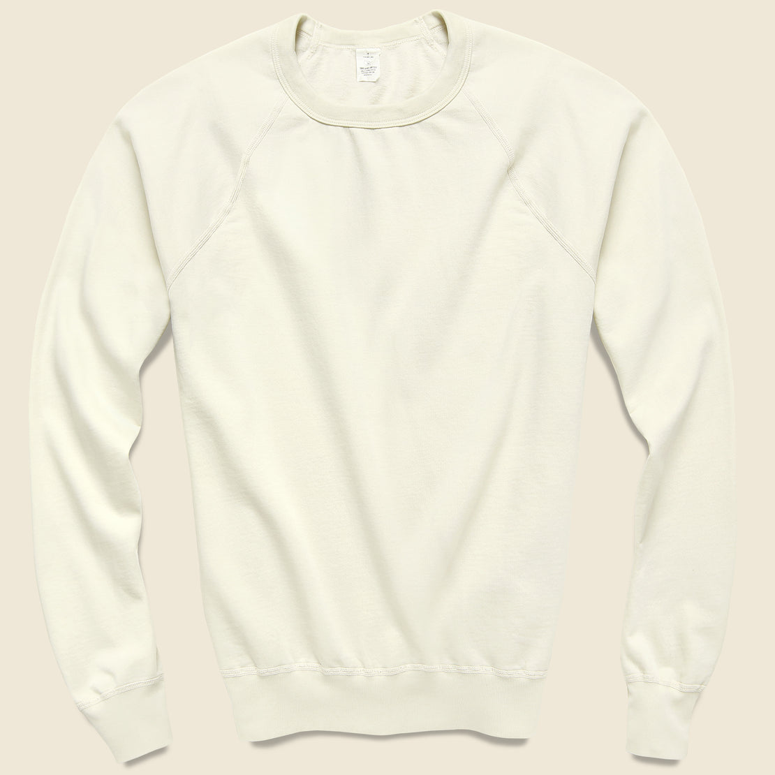 Save Khaki Supima Fleece Sweatshirt - Stone