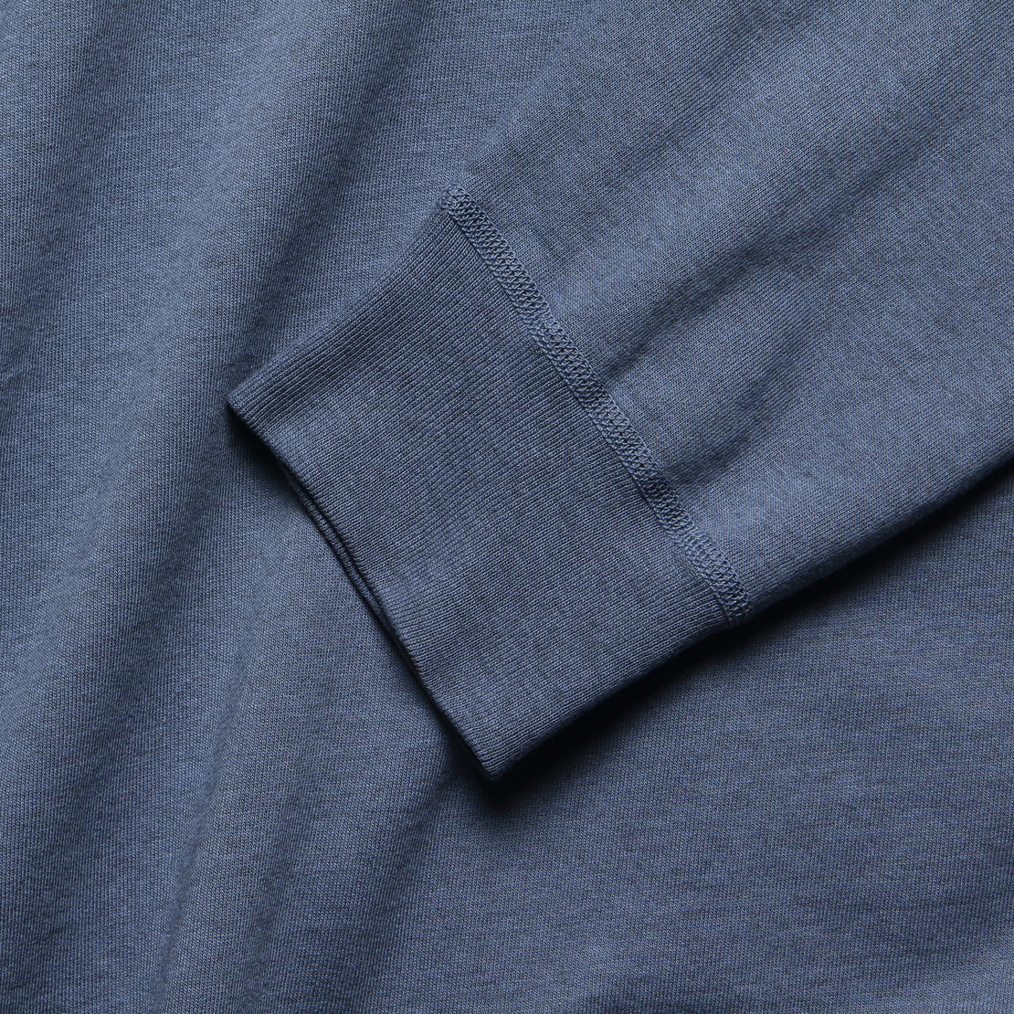 Heather Fleece Sweatshirt - Good Blue