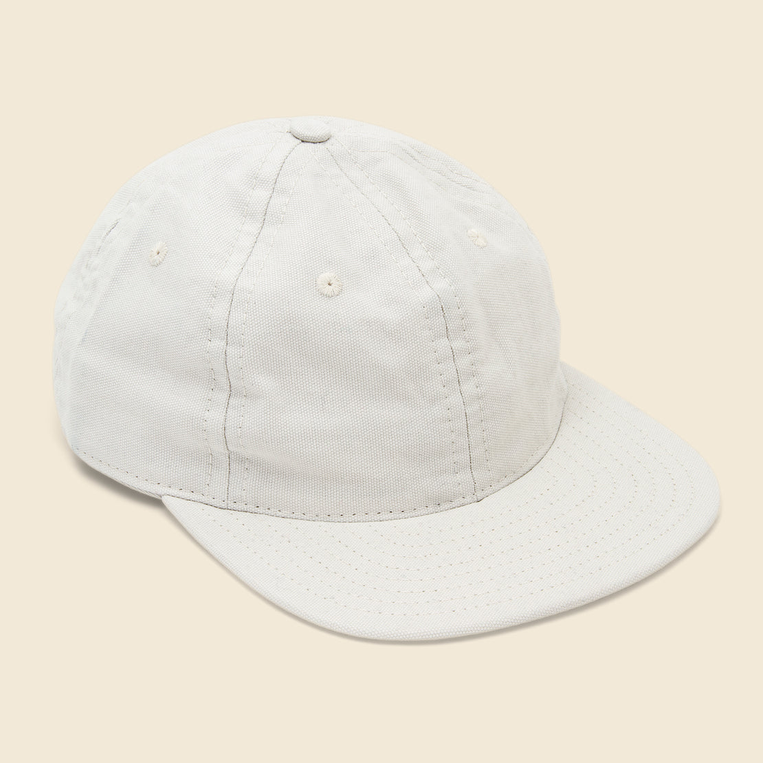Save Khaki Canvas Cap - Ash