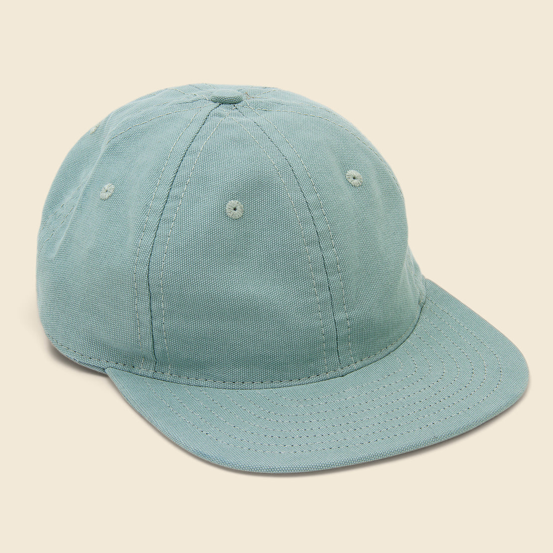 Save Khaki Canvas Cap - Dew