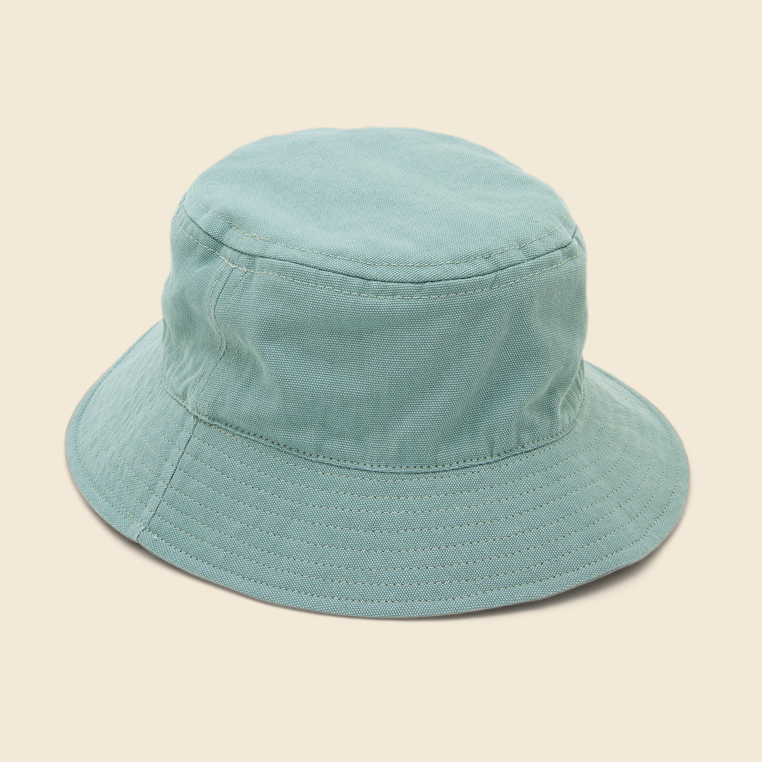 Save Khaki Canvas Bucket Cap - Dew