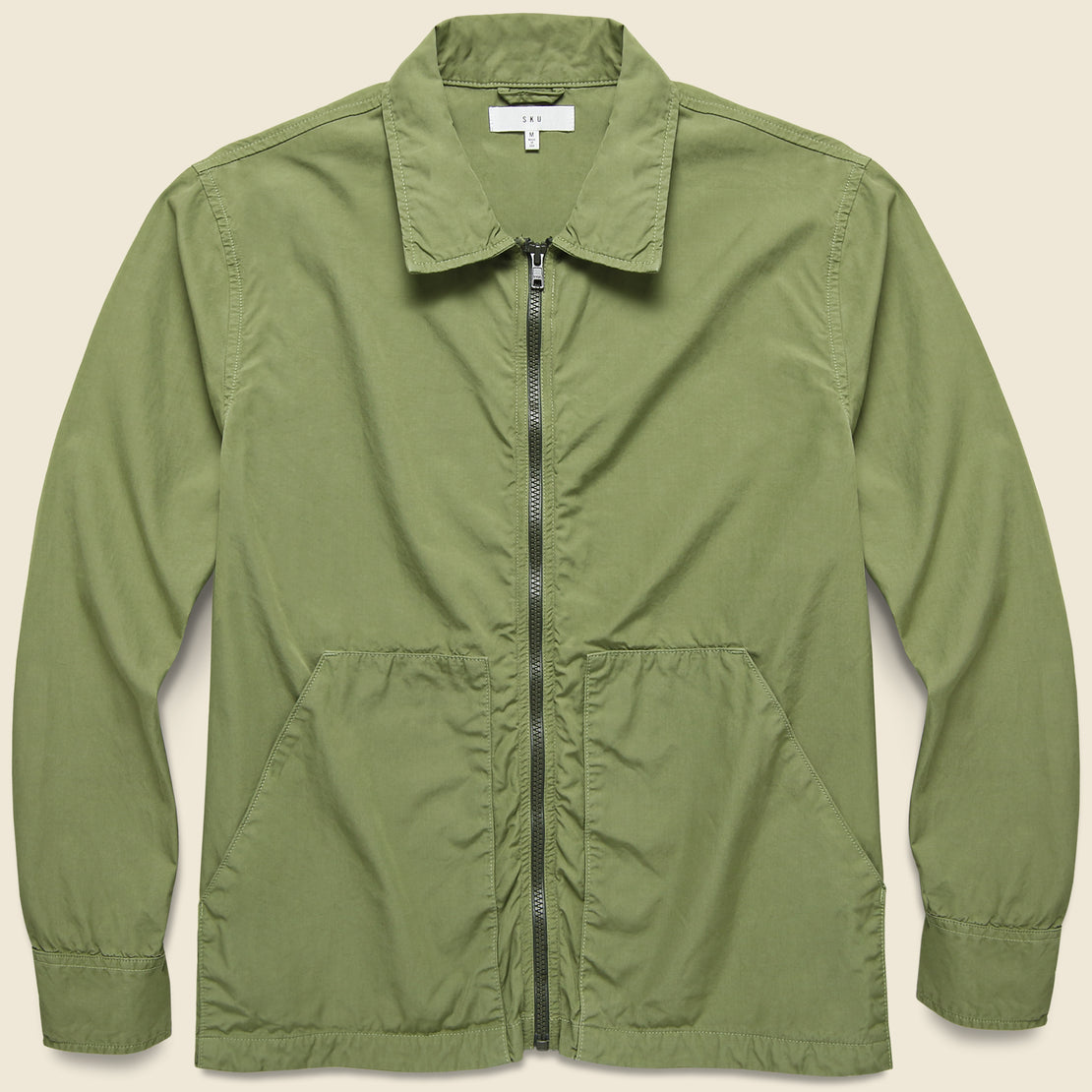 Save Khaki Poplin Service Jacket - Fatigue