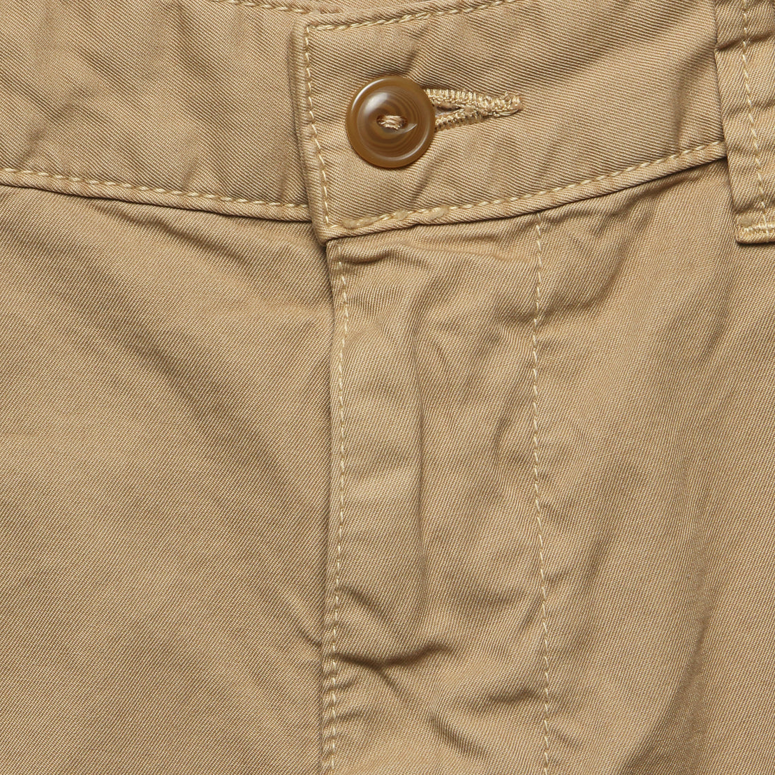 Twill Bermuda Short - Copper