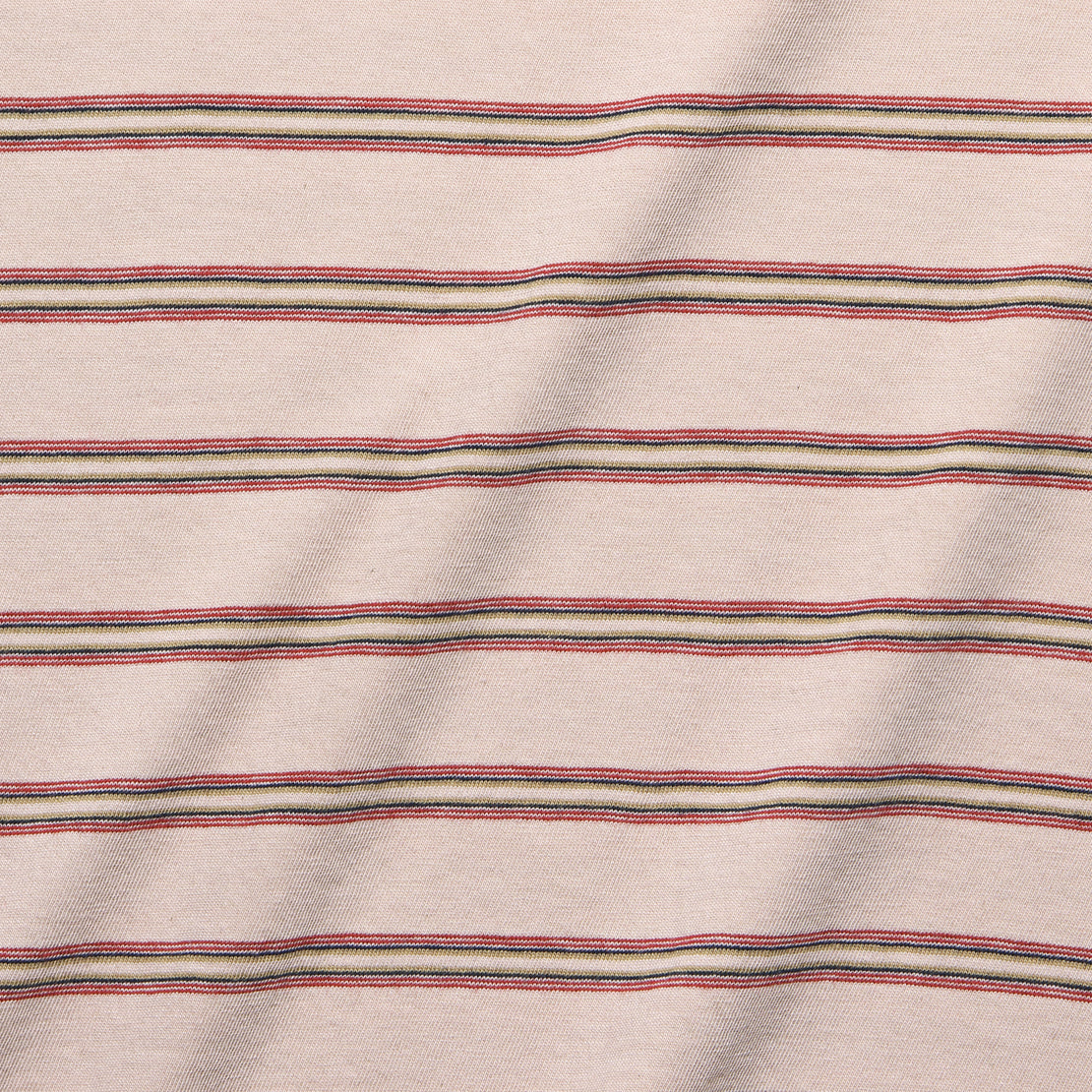 Vintage Striped Relaxed Tee - Tea