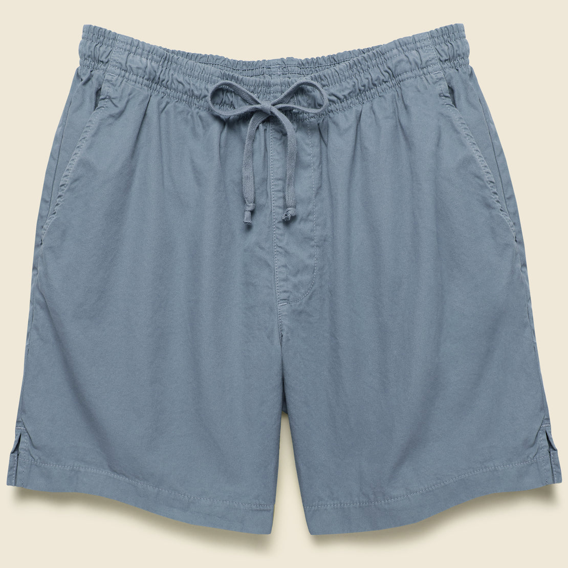 Save Khaki Twill Easy Short - Wave