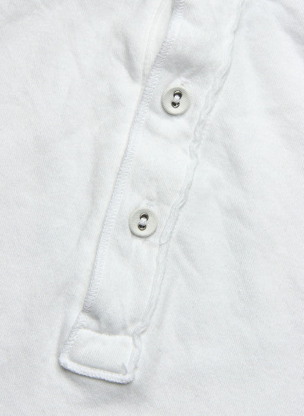 Pointelle Henley - White - Save Khaki - STAG Provisions - Tops - L/S Knit