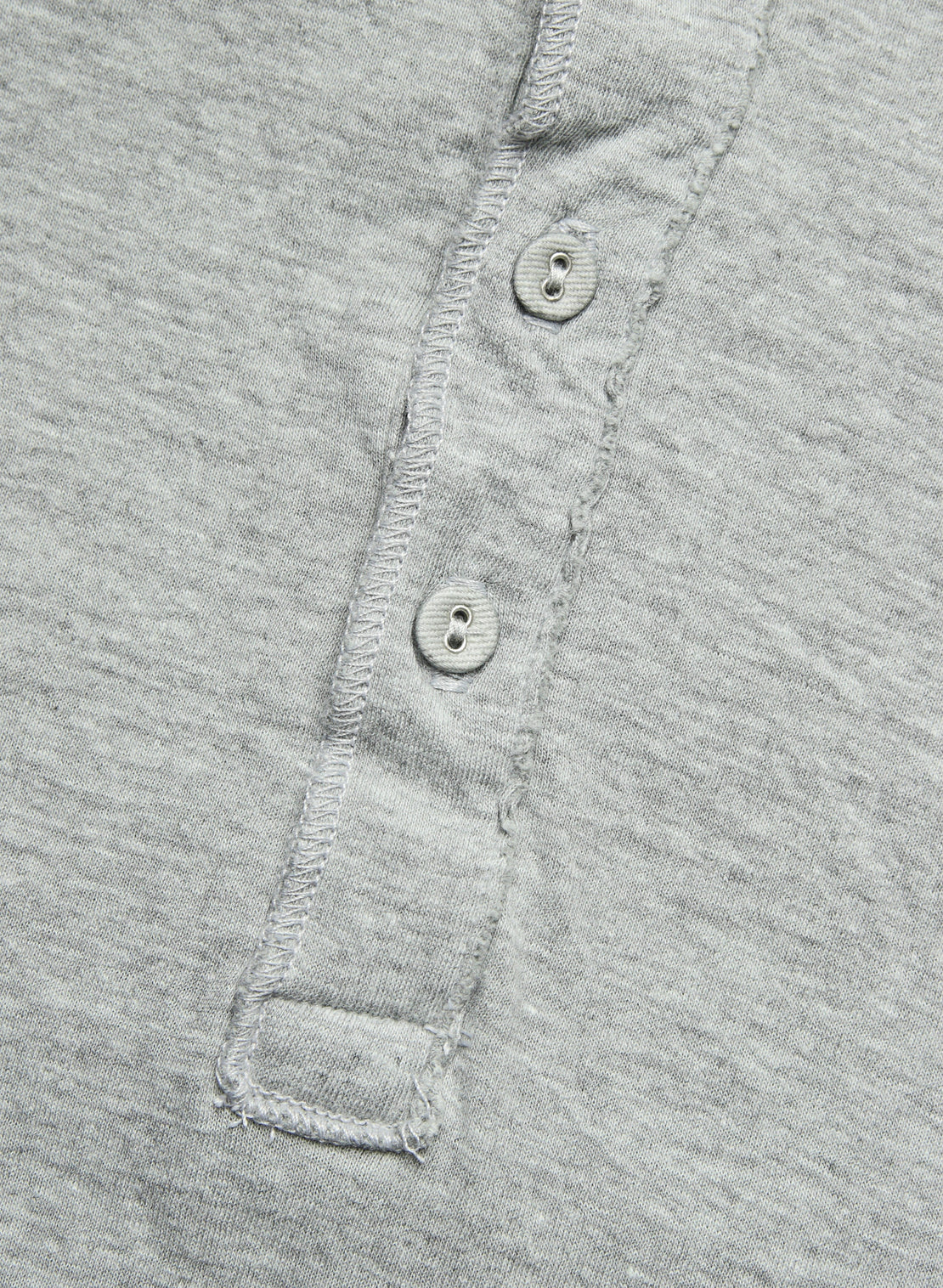 Pointelle Henley - Silver Heather - Save Khaki - STAG Provisions - Tops - L/S Knit