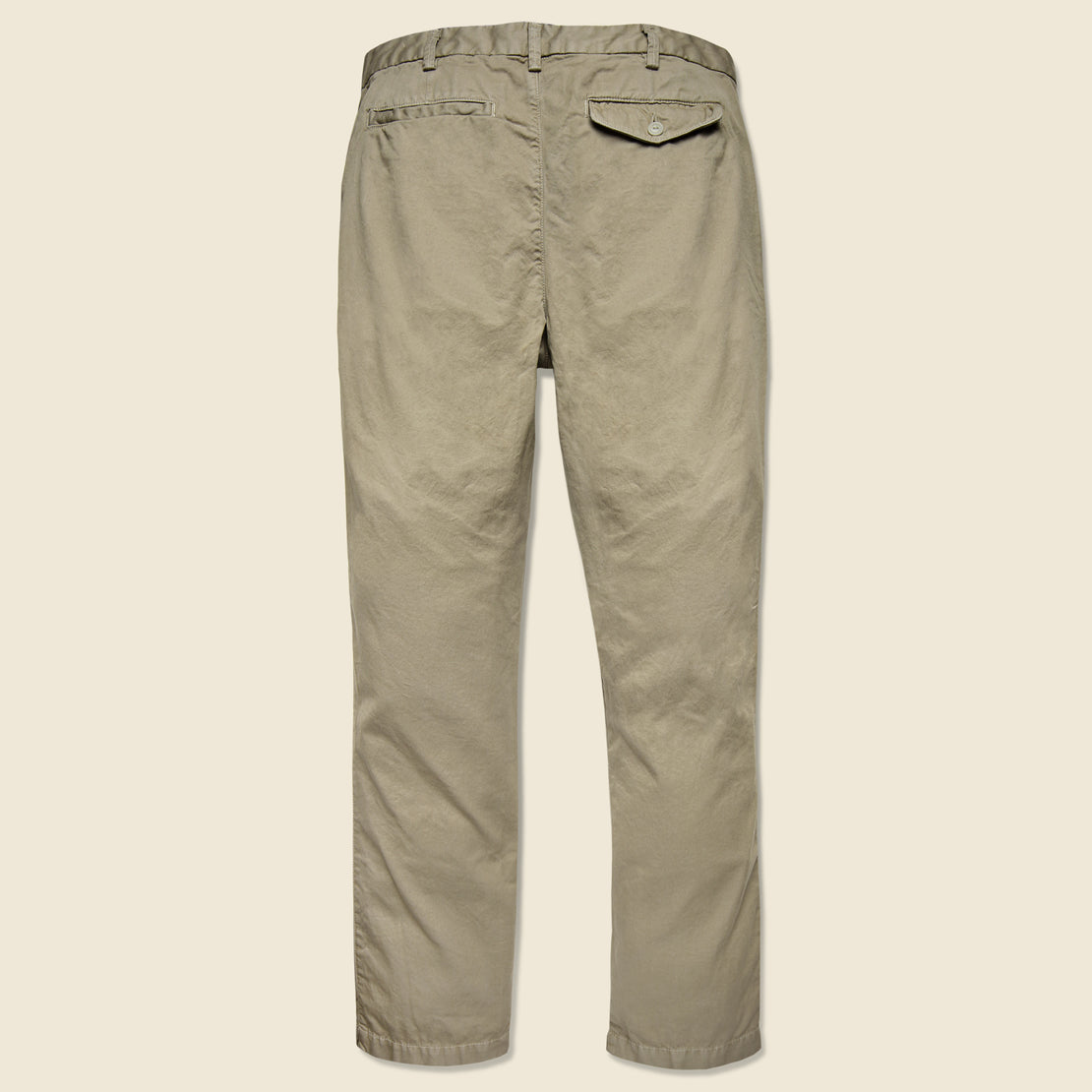 Light Twill Trouser - Khaki